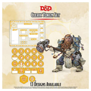 Dungeons & Dragons: Cleric Token Set (Fifth Edition)
