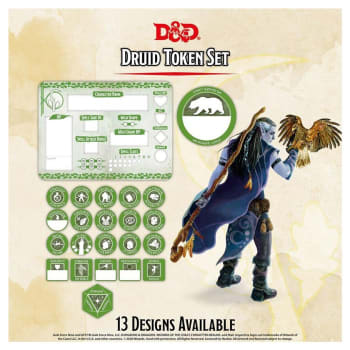 Dungeons & Dragons: Druid Token Set (Fifth Edition)