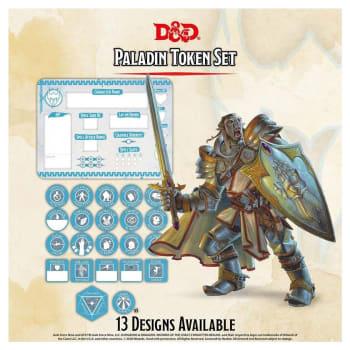 Dungeons & Dragons: Paladin Token Set (Fifth Edition)