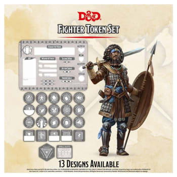 Dungeons & Dragons: Fighter Token Set (Fifth Edition)