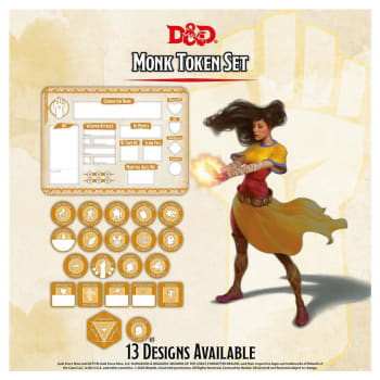 Dungeons & Dragons: Monk Token Set (Fifth Edition)