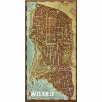 Dungeons & Dragons: Waterdeep - City Map