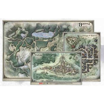Dungeons & Dragons: Curse of Strahd Map Set (Fifth Edition)