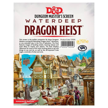Dungeons & Dragons: Waterdeep Dragon Heist - DM Screen