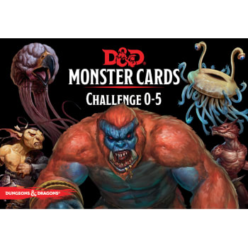 Dungeons & Dragons: Monster Cards Cards - Challenge 0-5 (Fifth Edition)