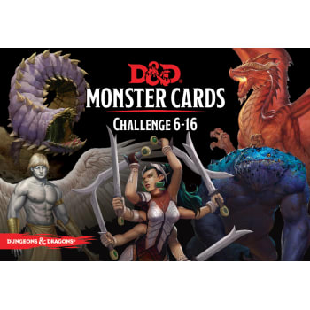 Dungeons & Dragons: Monster Cards Cards - Challenge 6-16 (Fifth Edition)