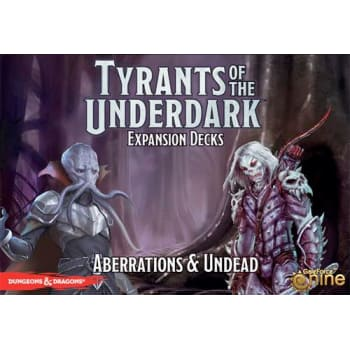 Dungeons & Dragons: Tyrants of the Underdark: Aberrations and Undead Expansion Decks