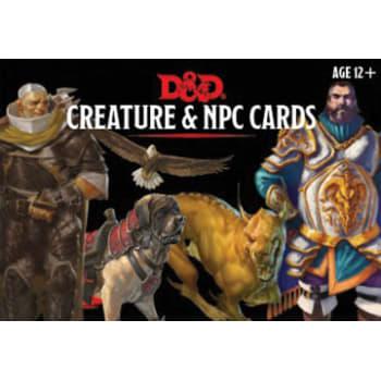 Dungeons & Dragons: Creatures & NPC Cards