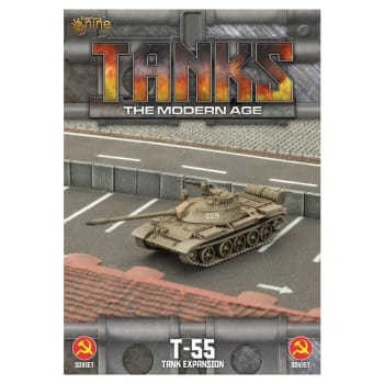 TANKS: The Modern Age - Soviet T-55 / T-55AM2 Expansion