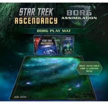 Star Trek: Ascendancy - Borg Play Mat