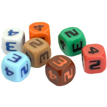 Star Trek: Ascendancy - Space Lane Dice (7)