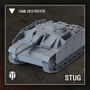 World of Tanks: Wave 1 - German (StuG III G), Tank Destroyer