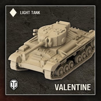 World of Tanks: Wave 1 - British (Valentine), Light Tank