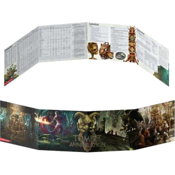 Dungeons & Dragons: Tomb of Annihilation DM Screen (Fifth Edition)