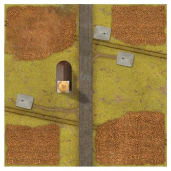 Tanks: Corn Fields Game Mat