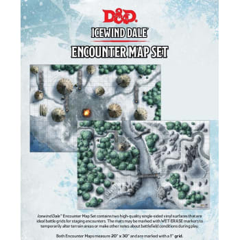 Dungeons & Dragons - Icewind Dale: Rime of the Frostmaiden Map Set