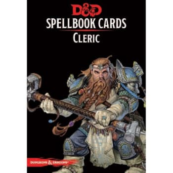 Dungeons & Dragons: Cleric Spellbook Cards (Fifth Edition) (2017 Edition)
