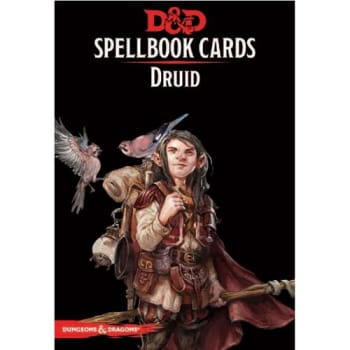 Dungeons & Dragons: Druid Spellbook Cards (Fifth Edition) (2017 Edition)