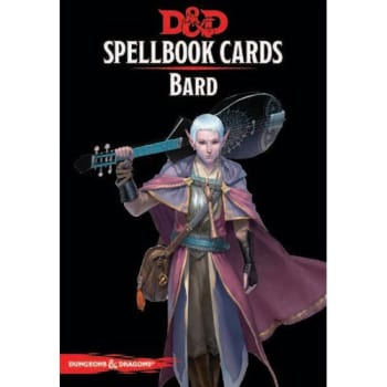 Dungeons & Dragons: Bard Spellbook Cards (Fifth Edition) (2017 Edition)