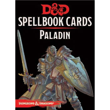 Dungeons & Dragons: Paladin Spellbook Cards (Fifth Edition) (2017 Edition)