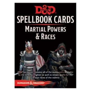 Dungeons & Dragons: Martial Spellbook Cards (Fifth Edition) (2017 Edition)
