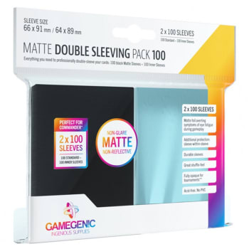 Gamegenic - Double Sleeving Pack (100)