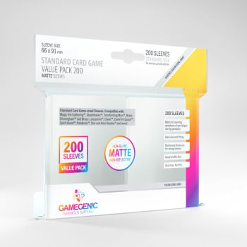 Gamegenic - Standard Card Game Value Pack (200)