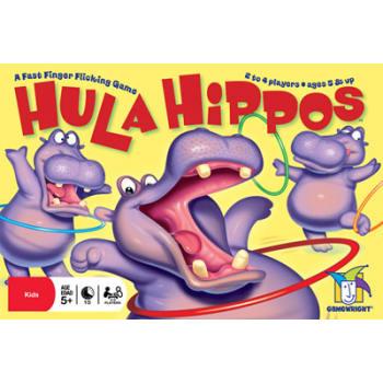 Hula Hippos Board Game