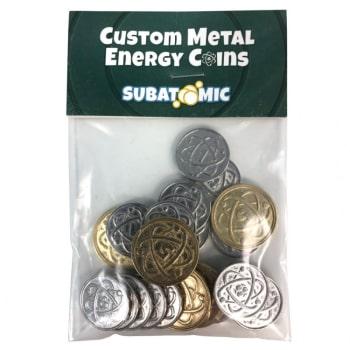 Subatomic: Metal Energy Coins