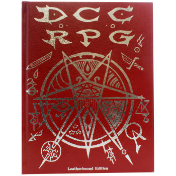 Dungeon Crawl Classics Role Playing Game (Real Leather Edition)