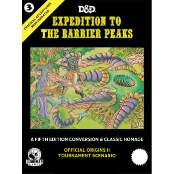 Original Adventures Reincarnated 3: Expedition to the Barrier Peaks