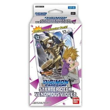 Digimon TCG - Starter Deck - Venomous Violet