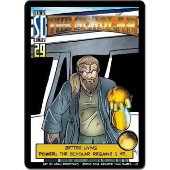 Sentinels of the Multiverse: The Scholar Mini-Expansion