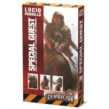 Zombicide: Special Guest Box Lucio Parrillo Characters