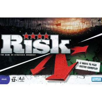 Risk Reinvention Board Game
