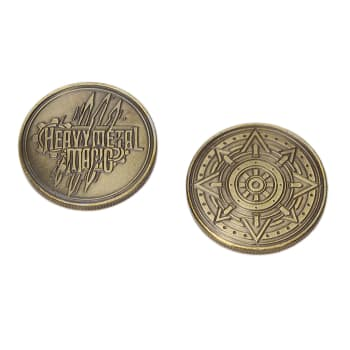 Heavy Metal Magic Gold Doubloon Treasure Tokens