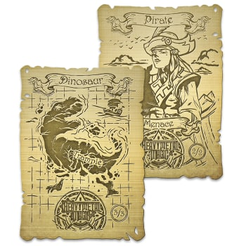 Heavy Metal Magic Gold Double-Sided Token