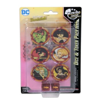 DC HeroClix: DC HeroClix: Harley Quinn and the Gotham Girls Dice & Token Pack