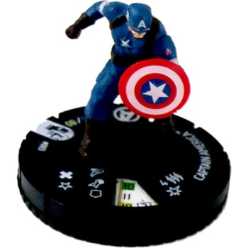 Marvel Heroclix Avengers Age of Ultron Movie 003 Captain America