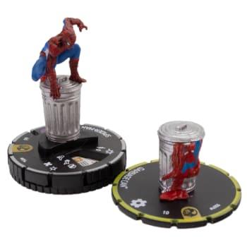 Spider-Man w/ Garbage Can - 054 & s006