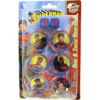 DC HeroClix: Superman/Wonder Woman - Superman Dice & Token Pack
