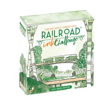Railroad Ink Challenge: Lush Green