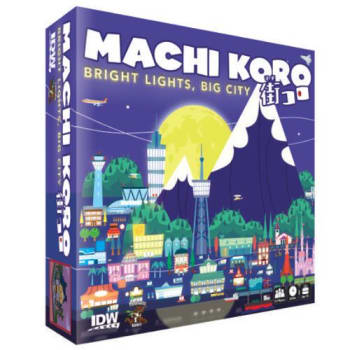 Machi Koro: Bright Lights, Big City Expansion