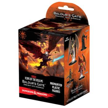 D&D Fantasy Miniatures: Icons of the Realms: Baldur's Gate: Descent into Avernus - Standard Booster Pack