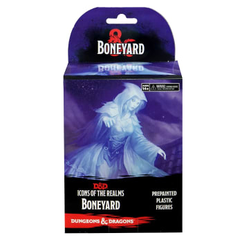 D&D Fantasy Miniatures: Icons of the Realms: Boneyard - Standard Booster Pack