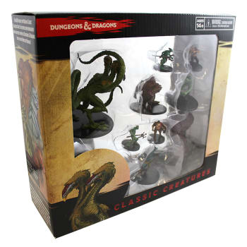 D&D Fantasy Miniatures: Icons of the Realms: Classic Creatures Box Set
