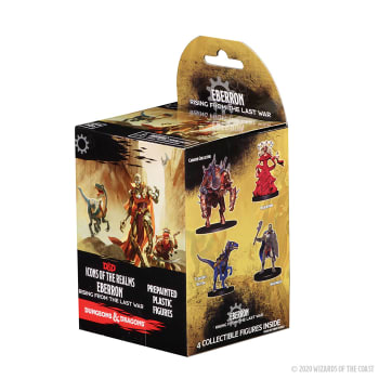 D&D Fantasy Miniatures: Icons of the Realms: Eberron: Rising From the Last War - Standard Booster Pack