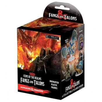 D&D Fantasy Miniatures: Icons of the Realms: Fangs and Talons - Standard Booster Pack