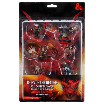 D&D Icons of the Realms Figure Pack: Descent into Avernus - Arkhan the Cruel and the Dark Order