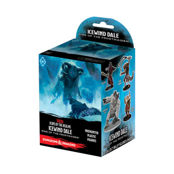D&D Fantasy Miniatures: Icons of the Realms: Icewind Dale: Rime of the Frostmaiden - Standard Booster Pack